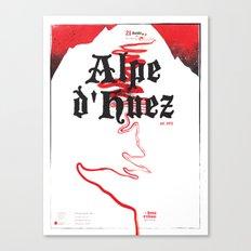Alpe d'Huez 2, More Menace! Canvas Print