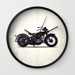 The 1930 Harley Model V Wall Clock
