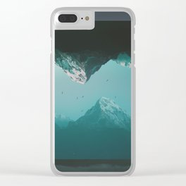 Opposites Clear iPhone Case