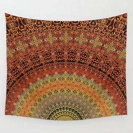 Fan Dance Wall Tapestry