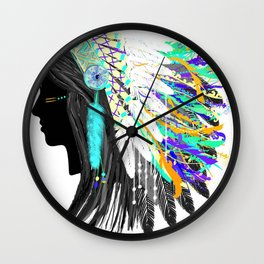 Santeria Wall Clock