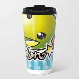 Melon☆POP logo Metal Travel Mug