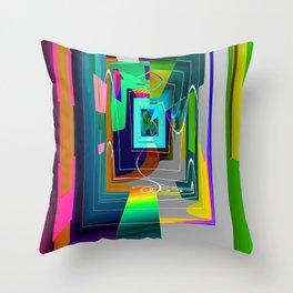 U N D E R P A S S Throw Pillow