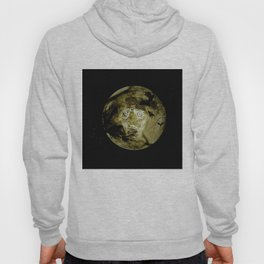 Ghostly Moon By Annie Zeno  Hoody