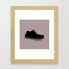 run away with me Framed Art Print