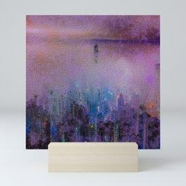 CITY SMOG Mini Art Print