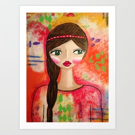 Reflections of Natalie Art Print