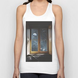WINDOW TO THE UNIVERSE Unisex Tank Top