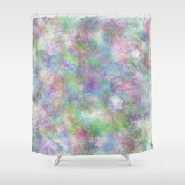 Abstract 48950 Shower Curtain