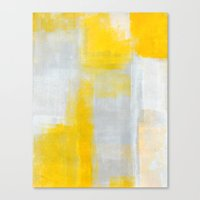 clear Canvas Prints featuring Clear by T30 Gallery