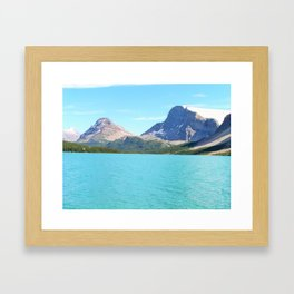 Waterfowl Lake Framed Art Print