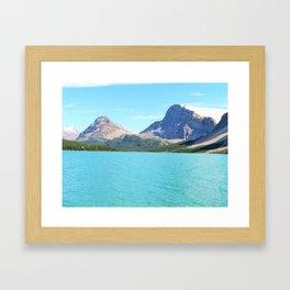 Waterfowl Lake Framed Art Print