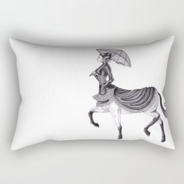 Victorian Centaur Rectangular Pillow