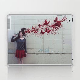 Bullet With Butterfly Wings Laptop & iPad Skin