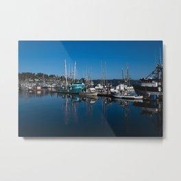 Newport Harbor Metal Print