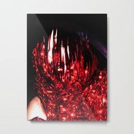 Tinsel Naiad Metal Print