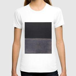 Untitled (Black on Grey) by Mark Rothko T-shirt