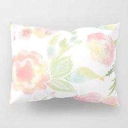 Watercolor Florals Pillow Sham