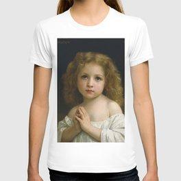 """William-Adolphe Bouguereau """"Little Girl"""" T-shirt"""