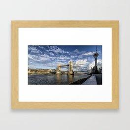 Tower Bridge London UK Framed Art Print