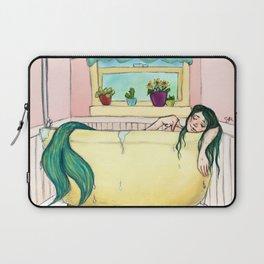 Bathtub Mermaid Laptop Sleeve