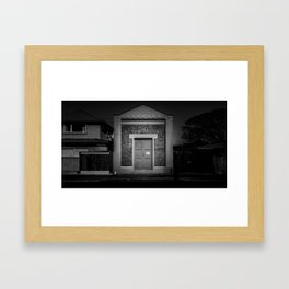 The Christchurch Electricity Substation Project III Framed Art Print