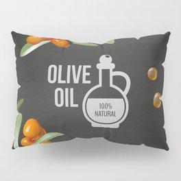 Olives retro poster #8 Pillow Sham