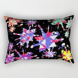 Triangles Pattern 001 Rectangular Pillow