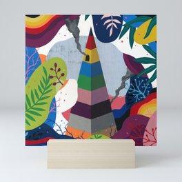 Pyramid Mini Art Print