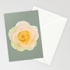 bed of roses: texas Stationery Cards
