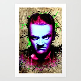 James Cagney, angry Art Print