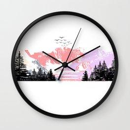 Landscape #03 Wall Clock