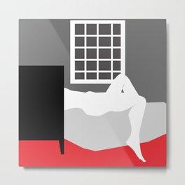 In the bedroom Metal Print