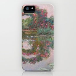 FLOWERING ARCHES IN GIVERNY - MONET  iPhone Case