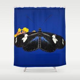 Wild Blue Shower Curtain