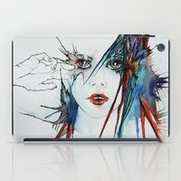 muscle iPad Cases featuring Muscle Tissue  by Juli Jah