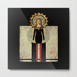 Renaissance Madonna Metal Print