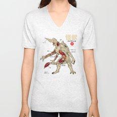 Kaiju Anatomy Unisex V-Neck