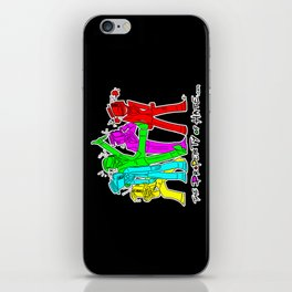 TPoH: Colourful Personality iPhone Skin