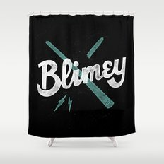 Blimey Shower Curtain
