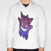 gengar Hoodies featuring Galaxy Gengar by Visual Declaration