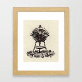 SMOKEY JOE Framed Art Print