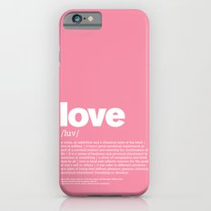 definition LLL - Love iPhone 6s Slim Case