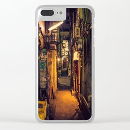Tokyo Alley Clear iPhone Case