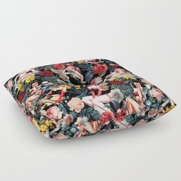 Floral and Pin-Up Girls IV Floor Pillow