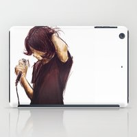 alex turner iPad Cases featuring alex turner [7] [humbug] by roanne Q