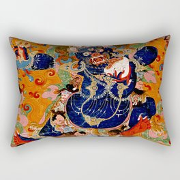 Destroyer of the God of Death Rectangular Pillow