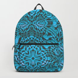 A Pattern in Turquoise Backpack
