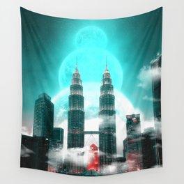 Petronas Malaysian Fantasy Wall Tapestry