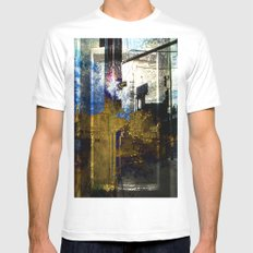 Beauty Beyond The Frame Series Mens Fitted Tee MEDIUM White
